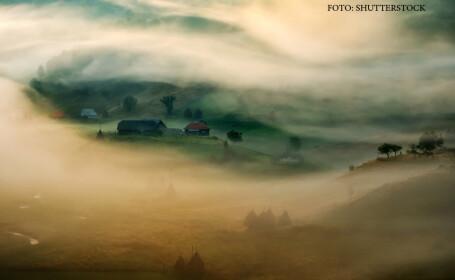 ceata la munte in Romania