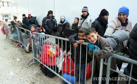 refugiati la granitele UE