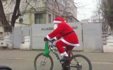 mos pe bicicleta in Galati