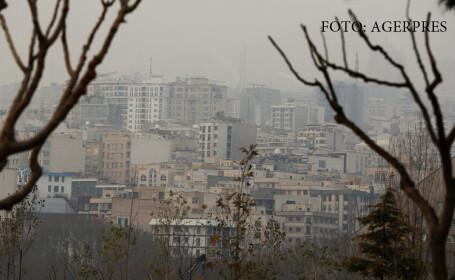 poluare in Teheran
