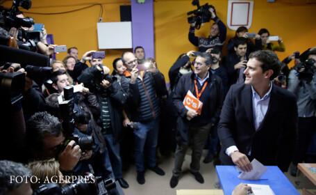 Alegeri parlamentare in Spania: cine a obtinut cele mai multe voturi, potrivit exit-poll-urilor. Extremistii Podemos, pe 3