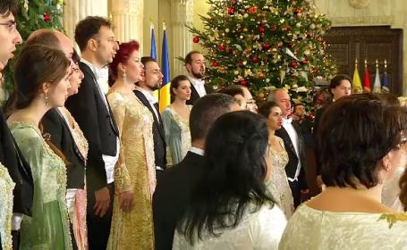 Concert al Corului Madrigal la Palatul Cotroceni, in onoarea salvatorilor de la Colectiv. Cine au fost invitatii lui Iohannis