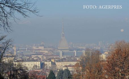 poluare la Torino