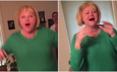 Surpriza uriasa primita de o femeie din SUA, de Craciun. Reactia ei a devenit virala pe internet: VIDEO
