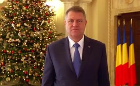 Mesajele de Anul Nou ale lui Iohannis si Ciolos. \