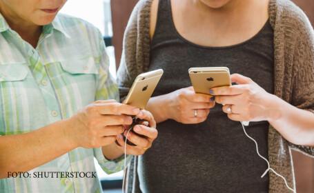 cuplu folosind iPhone 6