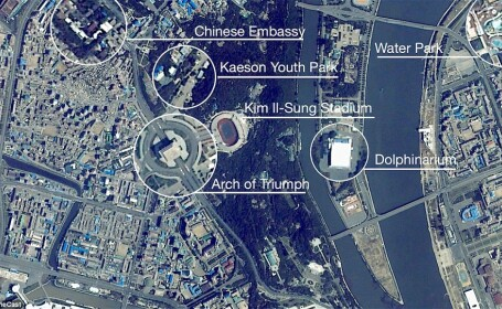 Orasul cu peste 3 milioane de suflete, dar pustiu. Imagini rare cu capitala Coreei de Nord filmate din spatiu. VIDEO