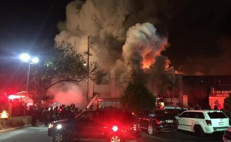 Incendiu puternic intr-un club din California, in care se aflau 100 de persoane. 9 morti si peste 30 de disparuti