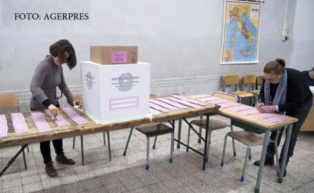 Zi decisiva pentru Italia. Prezenta de 55% la vot, cu 4 ore inainte de inchiderea urnelor, la referendumul crucial