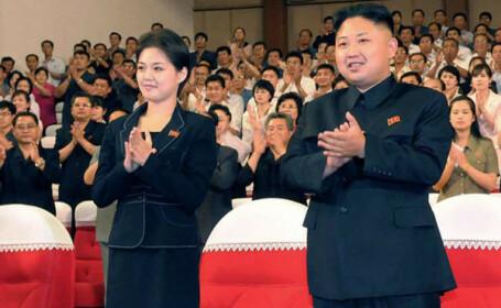 Prima aparitie a sotiei lui Kim Jong Un, dupa ce nu a mai aparut in public de 7 luni. Unde a fost vazuta acum