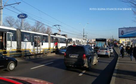 accident tramvai 41 Ciurel