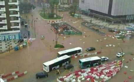 O romanca a murit in inundatiile din Spania. Patronul clubului de noapte in care lucra, retinut pentru trafic de persoane