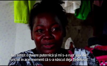 O femeie a nascut al optulea copil al sau in autobuz. Pasagerii au ajutat-o sa aduca pruncul pe lume