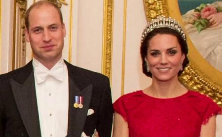 Catherine a atras toate privirile la un dineu organizat la Palatul Buckingham. Povestea tiarei pe care a purtat-o