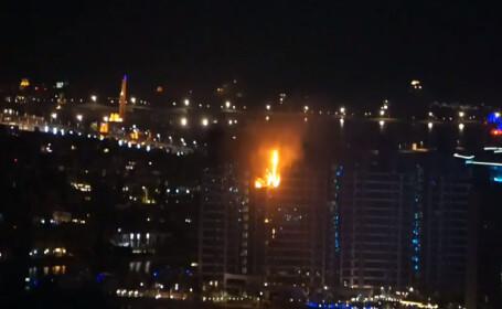 incendiu Dubai