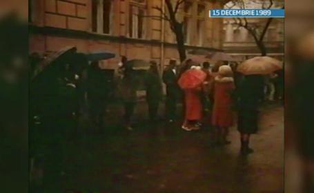27 de ani de la Revolutia din 1989. Pe 15 decembrie, protestul a inceput la Timisoara, cu 100 de oameni