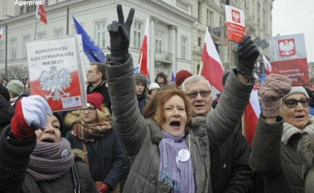 proteste Varsovia