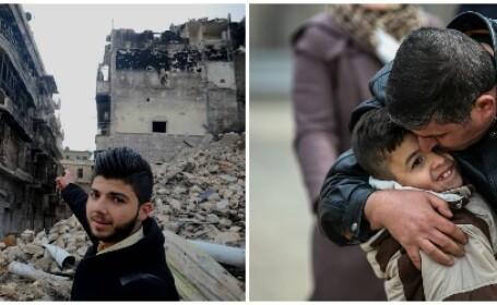 30.000 de oameni, printre care femei si copii, asteapta sa fie evacuati din Alep. \