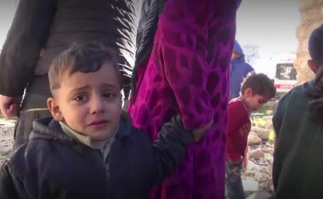 Motivul pentru care evacuarea civililor blocati in Alep a fost intrerupta brutal. \