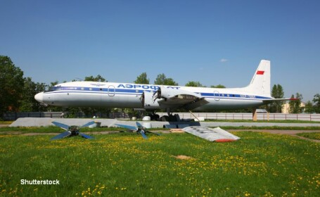 Avion militar rus, prabusit. Toti cei 39 de pasageri au supravietuit, 16 dintre ei fiind raniti grav. Imagini cu aeronava