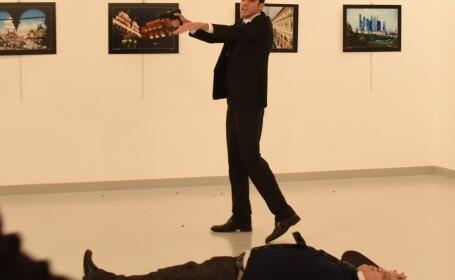 Rudele politistului care l-a ucis pe ambasadoul rus la Ankara au fost puse in libertate