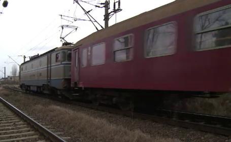Incident mortal in Buzau, dupa ce o femeie a fost calcata de tren. Politistii au deschis un dosar pentru moarte suspecta