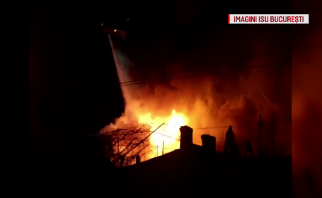 Au ramas pe strazi inaintea Sarbatorilor, dupa ce casele le-au luat foc. Un proprietar, scos cu forta din curtea locuintei