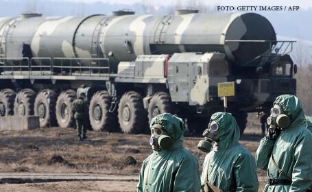 Rusia, racheta Topol