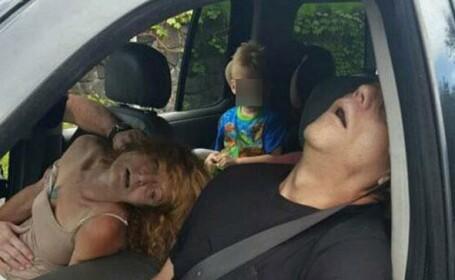Au fost gasiti drogati in masina, in timp ce nepotul lor era pe bancheta din spate. Decizia luata de autoritatile din SUA