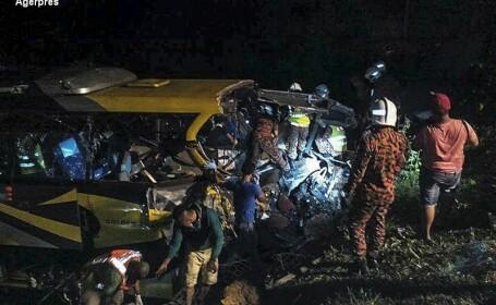 Accident autobuz Malaysia