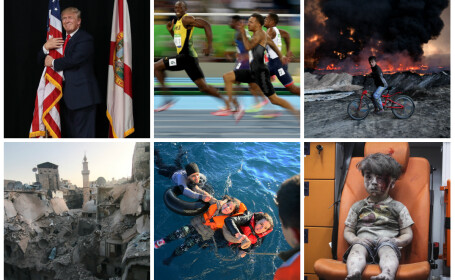Stirile anului 2016 in 16 imagini impresionante