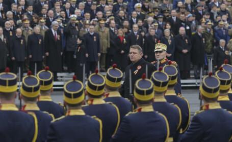 4.000 de militari vor defila la parada de pe 1 Decembrie, de la Arcul de Triumf