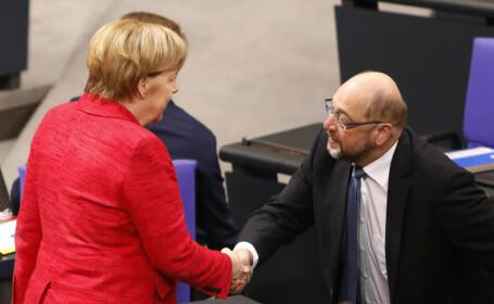 Merkel ar putea forma un nou guvern de coaliţie cu social-democraţii