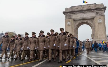 Parada militară dedicată Zilei Naționale a României