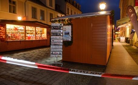 Alertă la Târgul de Crăciun din Potsdam: un dispozitiv cu explozibil, găsit