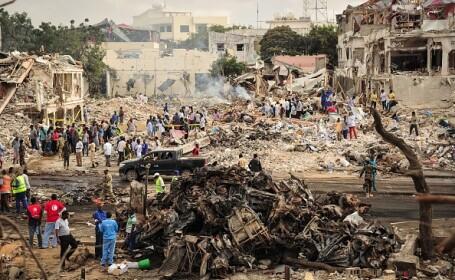 Noul bilanț al victimelor somaleze ale atacului din 14 octombrie: 512 morți
