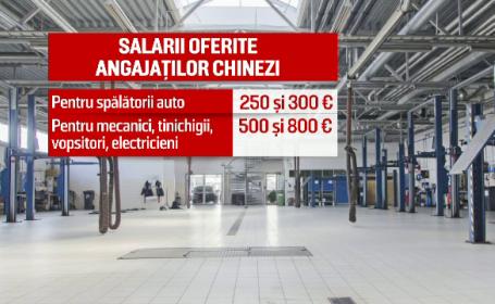Service-urile caută mecanici auto chinezi, fiindcă românii vor minim 1.000 euro