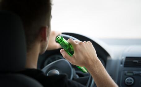 Sofer băut la volan