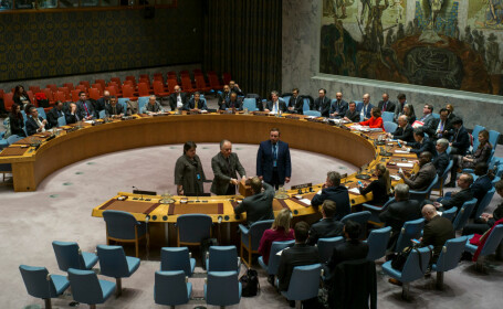 Şedinţă de urgenţă a Consiliului de Securitate, după ce SUA a recunoscut Ierusalimul drept capitală a Israelului