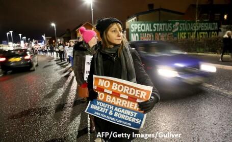 Protest la Belfast, Brexit - AFP/Getty