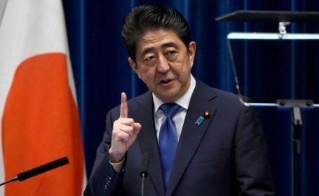 Shinzo Abe pune o conditie pentru a accepta o întâlnire istorică cu Kim Jong-un