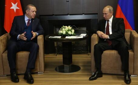 Vladimir Putin, vizită în Turcia, pentru discuţii axate pe Siria şi Ierusalim