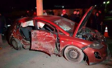 Accident violent în Constanța. Un tânăr a murit după ce impactul l-a proiectat în afara mașinii