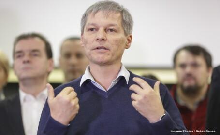 Dacian Cioloş: Partidele și parlamentarii să depună şi să voteze moţiunea de cenzură