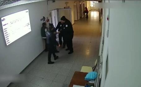 Conflict violent la intrarea în Spitalul din Botoșani