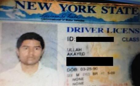 Autorul exploziei din New York, un bărbat de 27 de ani din Bangladesh. Ar fi făcut bomba la muncă