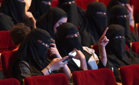 Saudiții vor putea merge la cinema, pentru prima dată după 35 de ani