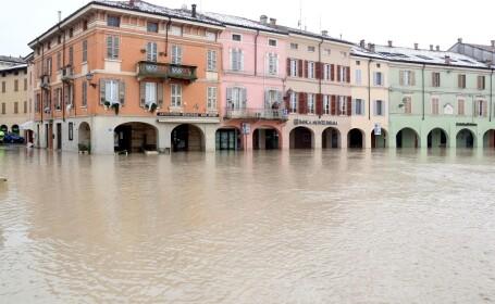 inundaţii Colorno