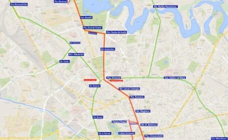 Restricţii de trafic în Bucureşti pentru funeraliile Regelui Mihai. Străzile afectate