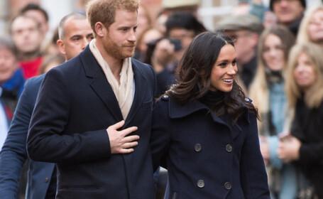 Prinţul Harry, Meghan Markle,